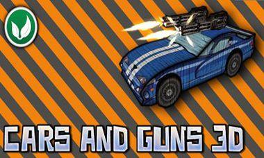 بازی ماشین و اسلحه Cars And Guns 3D v1.61 – اندروید