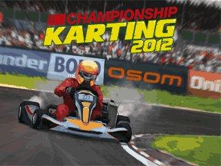 دانلود بازی فوق العاده Championship Karting 2012 با فرمت جاوا