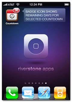 دانلود نرم افزار یاد آوری رویداد های مهم  Countdown Me v2.2 – آیفون ، آیپد ، آیپاد تاچ