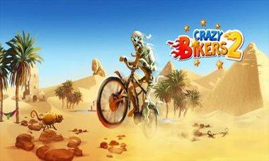 دانلود بازی زیبا و جالب دوچرخه سوار دیوانه Crazy Bikers 2 – اندروید