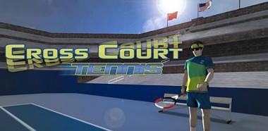 دانلود بازی تنیس موبایل Cross Court Tennis v2.1 – اندروید
