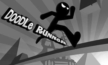 دانلود بازی سرگرم کننده دونده سیاه Doodle Runner – اندروید
