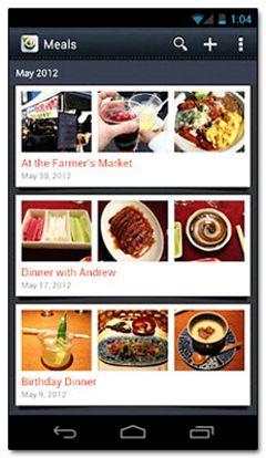 دانلود نرم افزار کتابچه ی آشپزی Evernote Food v1.0.5 – اندروید