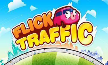 دانلود بازی سرگرم کننده کنترل ترافیک Flick Traffic v1.3.0 – اندروید