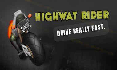 دانلود بازی موتور سواری در بزرگراه با Highway Rider – اندروید