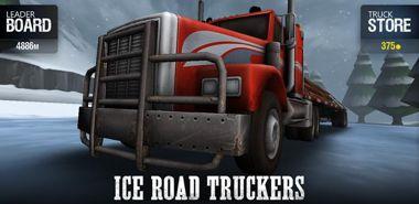 بازی فوق العاده کامیون داران جاده ی یخی Ice Road Truckers v1.0 –  اندروید