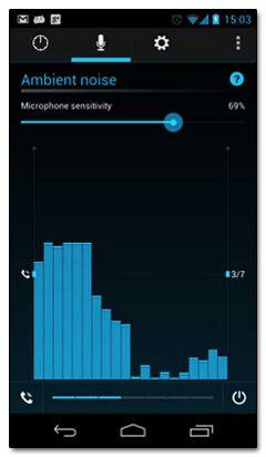نرم افزار تنظیم صدای گوشی بر اساس محیط Intell iRing v1.1.1 – اندروید