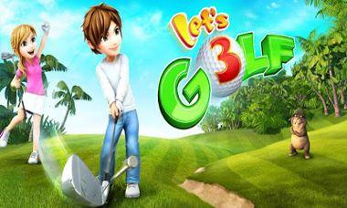 دانلود بازی زیبا و جالب شبیه ساز گلف Lets Golf! 3 – اندروید