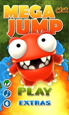 بازی فوق العاده زیبا و جالب پرش مگا Mega Jump – اندروید