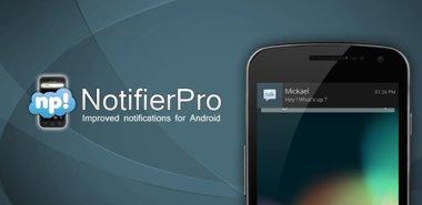 دانلود نرم افزار کاربردی و جدید NotifierPro Plus 7.4 – اندروید