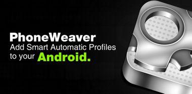 نرم افزار کاربردی تنظیم پروفایل گوشی با PhoneWeaver FULL v2.4.1 – اندروید