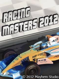 دانلود بازی مسابقات قهرمانی Racing masters 2012 با فرمت جاوا