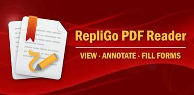 نرم افزار موبایل نمایش فایل های PDF با RepliGo PDF Reader v4.0.3 – اندروید