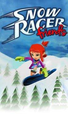 دانلود بازی ورزش زمستانی اسنو برد Snow Racer Friends – اندروید