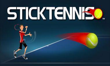 دانلود بازی زیبا و سرگرم کننده تنیس Stick Tennis – اندروید