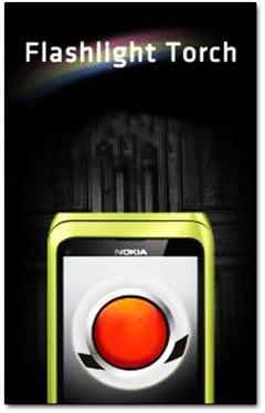 نرم افزار چراغ قوه Flashlight Torch v2.0 برای سیمبیان ۳ و Anna