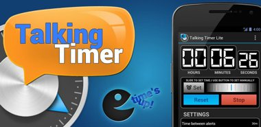 دانلود نرم افزار تایمر سخنگو Talking Timer + v1.1.8 – اندروید