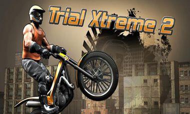 دانلود بازی گرافیک بالا موتور سواری Trial Xtreme 2 HD – اندروید