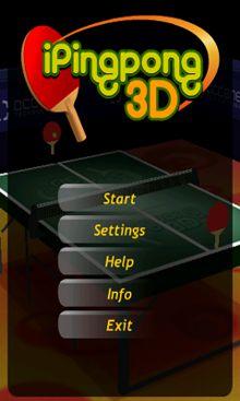 دانلود بازی موبایل پینگ پنگ به صورت ۳ بعدی iPing Pong 3D – اندروید