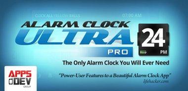 دانلود نرم افزار پیشرفته آلارم Alarm Clock Ultra v2.4.8 – اندروید