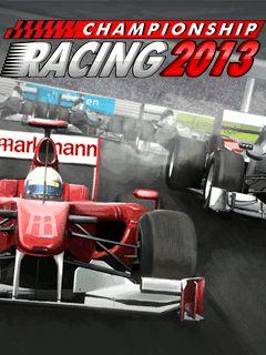 دانلود بازی مسابقات فرمول ۱  Championship Racing 2013 – جاوا