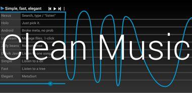 موزیک پلیر قدرتمند Clean Music Player 3.1.0 – اندروید