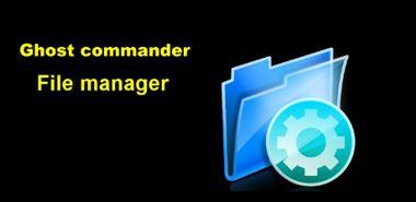 دانلود نرم افزار فایل منیجر Ghost Commander File Manager 1.50.1 – اندروید