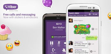 نرم افزار  Viber : Free Calls & Messages 2.3.6.338 – اندروید