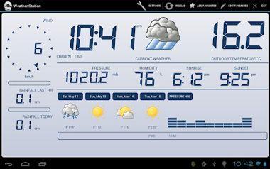 دانلود نرم افزار ایستگاه هواشناسی Weather Station v2.1.8 – اندروید