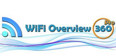 نرم افزار مدیریت شبکه های محلی WiFi Overview 360 Pro v2.00.6 – اندروید