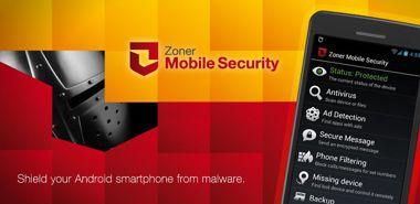 دانلود نرم افزار امنیتی آنتی ویروس Zoner Mobile Security v1.1.0 – اندروید