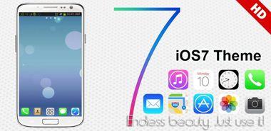 دانلود لانچر زیبا iOS 7 iPhone Theme Go Launcher v1.3 – اندروید