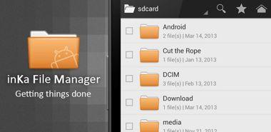 نرم افزار فایل منیجر قدرتمند inKa File Manager Plus v0.6.9.2 – اندروید