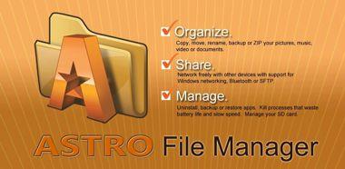 مدیریت فایل ها با ASTRO File Manager with Cloud v4.5.620 – اندروید