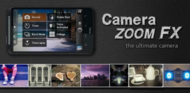 دانلود نرم افزار عکاسی حرفه ای با Camera ZOOM FX v5.0.6 – اندروید