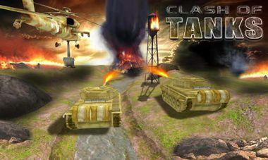 دانلود بازی فوق العاده زیبا شبیه ساز تانک Clash of Tanks v1.1 – اندروید