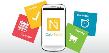 نرم افزار دفترچه یادداشت ColorNote Notepad Notes 3.9.24 – اندروید