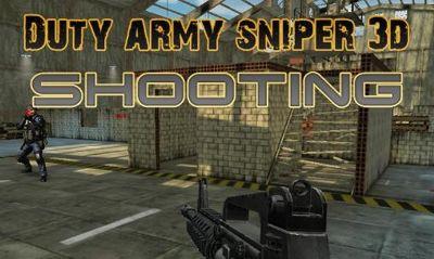 دانلود بازی تیر اندازی Duty Army Sniper 3d shooting v1.0 – اندروید