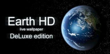 دانلود لایو والپیپر کره زمین Earth HD Deluxe Edition v3.4.1 – اندروید