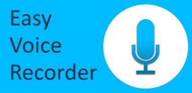 دانلود نرم افزار ضبط آسان صدا با Easy Voice Recorder 1.7.2 – اندروید