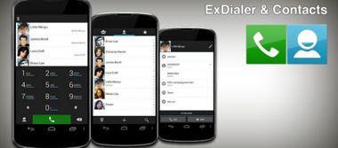 نرم افزار مدیریت کامل بر مخاطبین ExDialer & Contacts v147 – اندروید