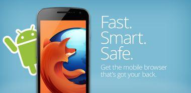 ورژن جدید مرورگر فایرفاکس Firefox Browser for Android 23.0 – اندروید