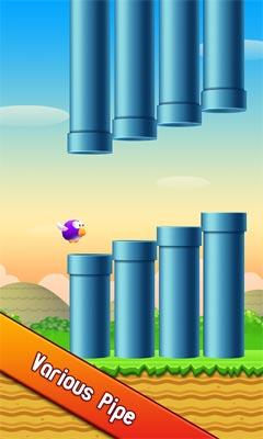 دانلود بازی سرگرم کننده Floppy Bird 3D v2.2 – اندروید