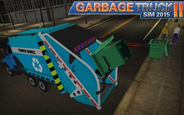 بازی شبیه ساز ماشین حمل زباله Garbage Truck SIM 2015 II – اندروید
