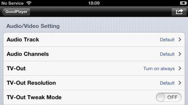 دانلود نرم افزار پلیر قدرتمند GoodPlayer v7.3 مخصوص iOS