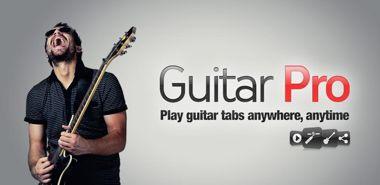 نرم افزار شبیه ساز حرفه ای گیتار Guitar Pro v1.5.2 – اندروید