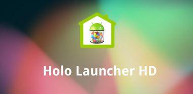 دانلود لانچر سبک و قدرتمند Holo Launcher HD Plus v2.0.3 – اندروید