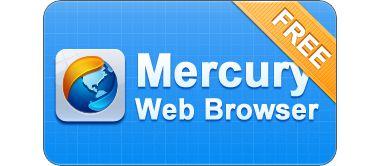 دانلود مرورگر قدرتمند و سریع Mercury Browser 1.0 – اندروید