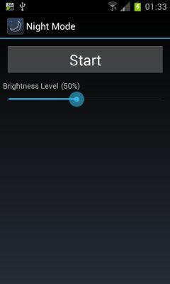 نرم افزار تنظیم نور صفحه نمایش در شب با Night Mode v1.0.1 – اندروید