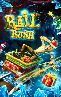 دانلود بازی سرگرم کننده Rail Rush 1.5.0 – اندروید
